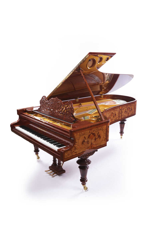 C. Bechstein Concert Grand Art - Case