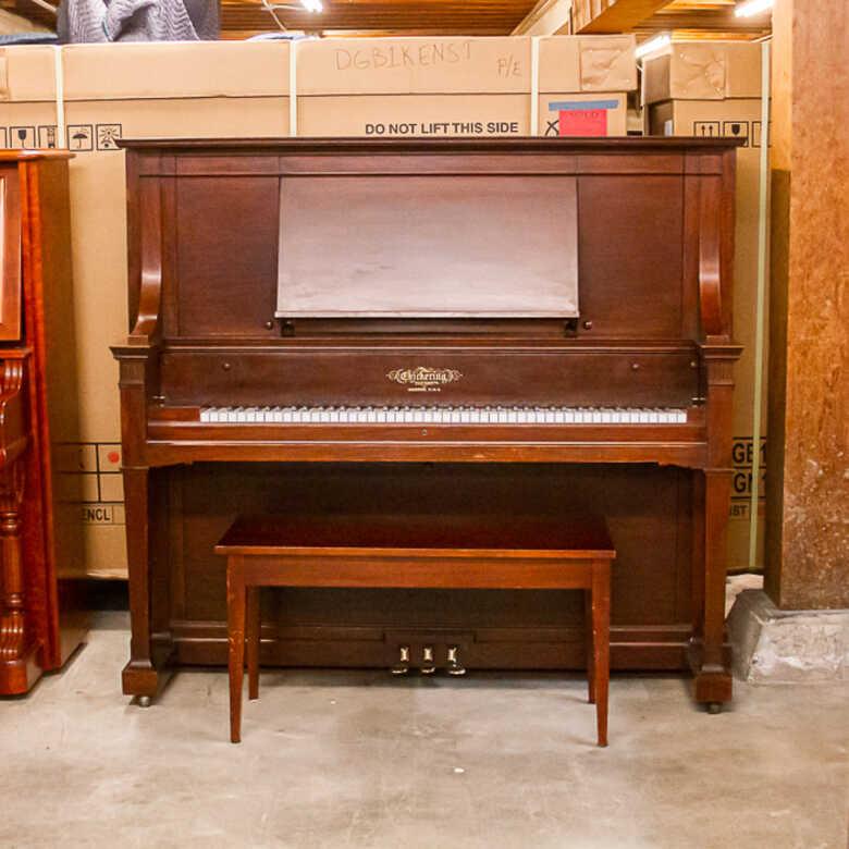 Chickering Craftsman-Style Upright Piano (Rare)