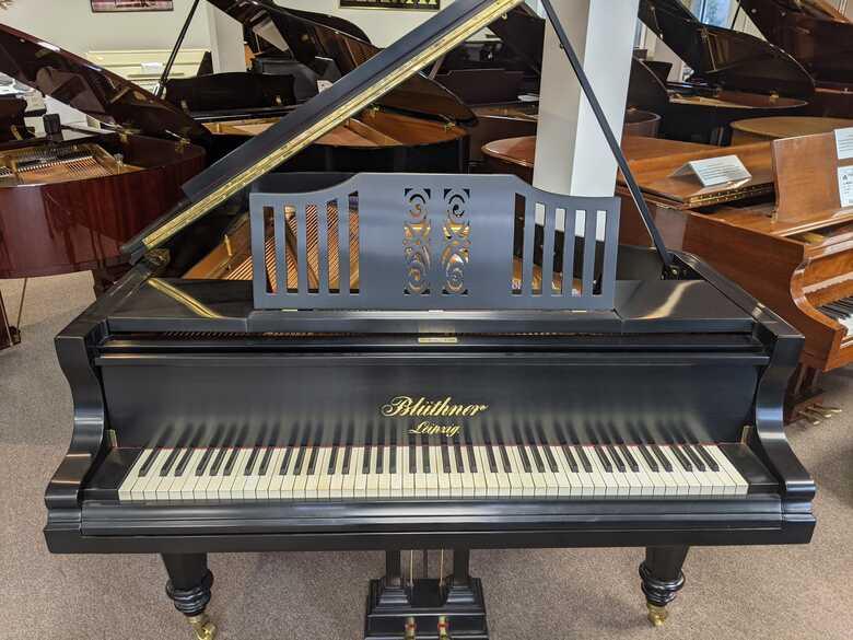 Restored Bluthner Grand Piano
