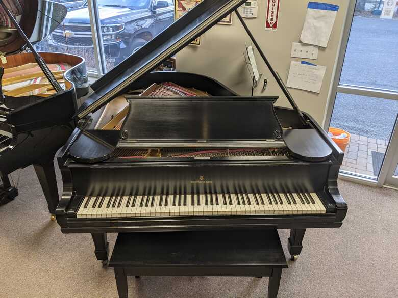 Restored Steinway O Baby Grand Piano
