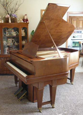 1912 Weber Player Grand-Fully Restored-Foot Pump & Electric