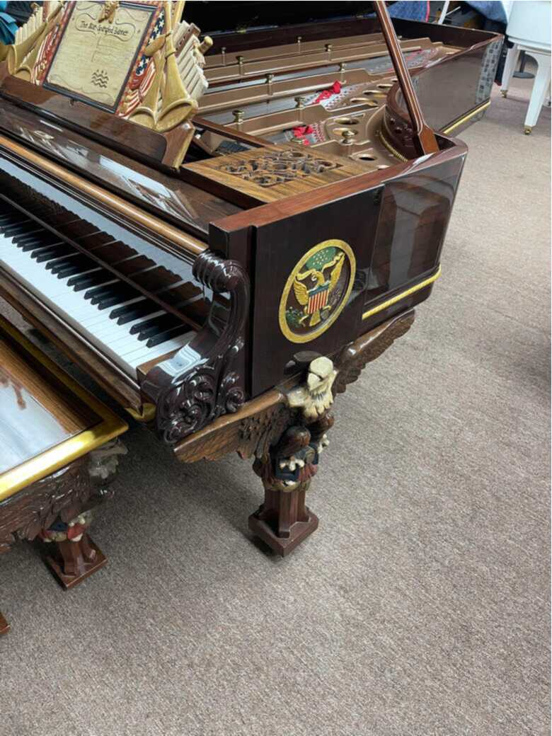 RARE CHICKERING GRAND 9ft 1868 TO 1878 PRESIDENTIAL PIANO