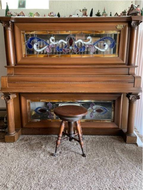 Antique Nickelodeon player piano