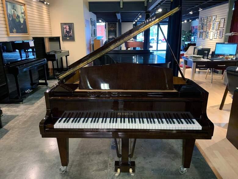 Feurich  1919 5'3″ Baby Grand Piano In Walnut Polish | $21,9