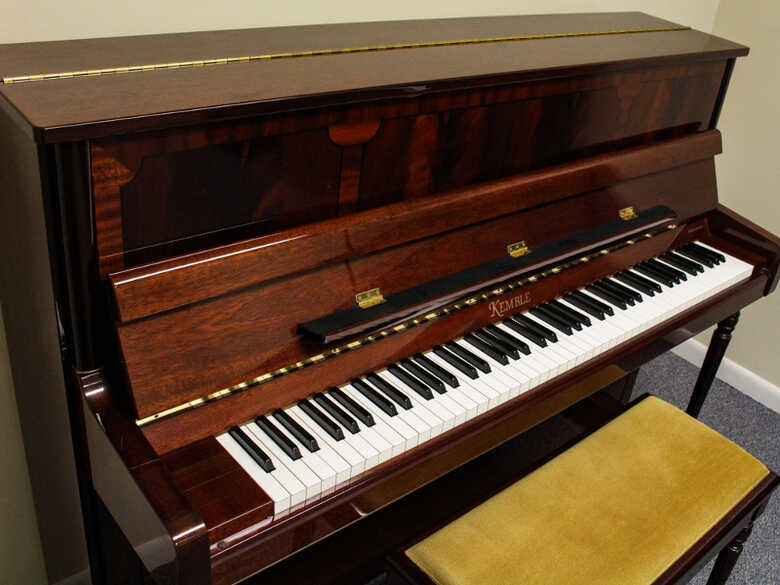 Kemble Made In England Upright Piano