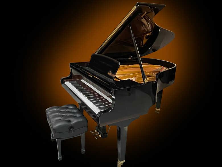 Sauter 185 Delta German Grand Piano - FREE Shipping!