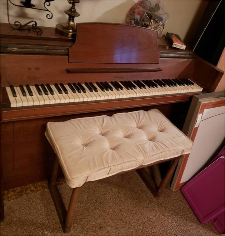 Hardman Peck Mini Piano