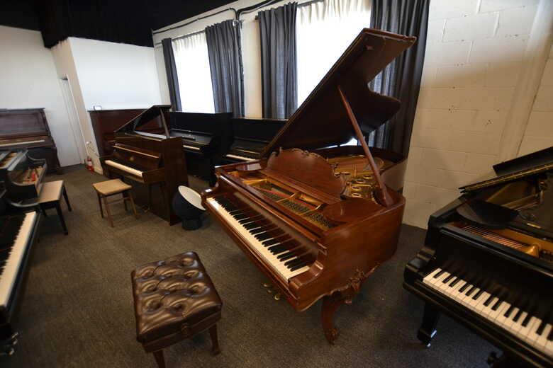 STEINWAY Grand Piano, RARE LOUIS XV