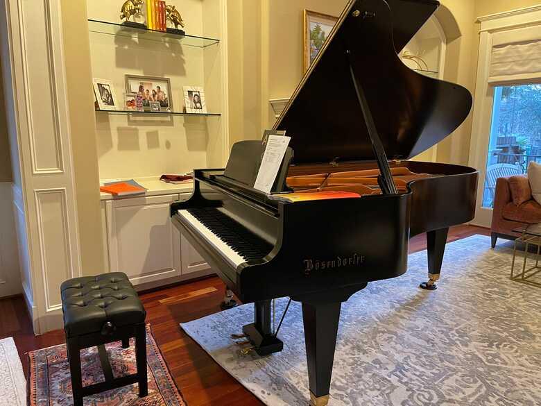 Mint condition Bosendorfer 214CS Grand Piano