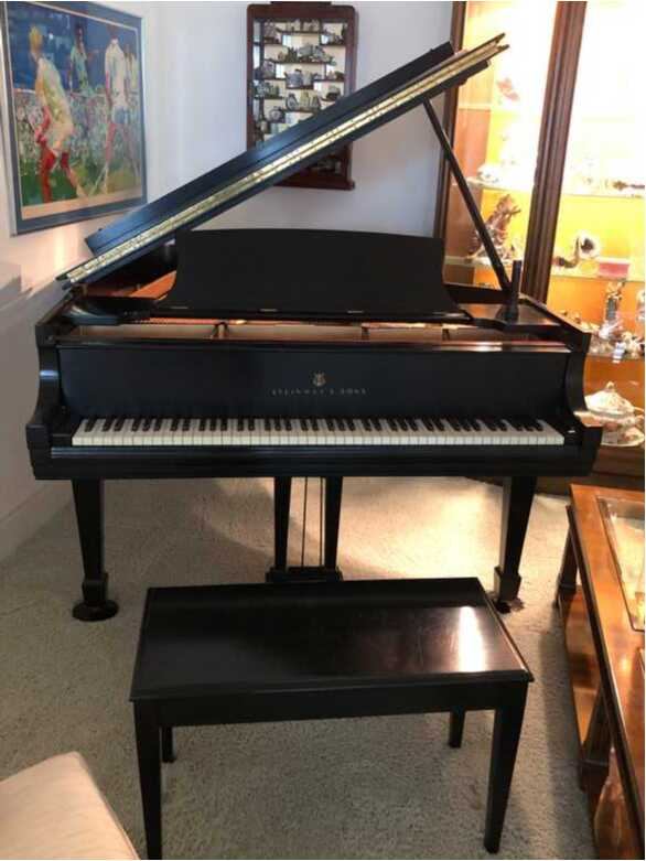 Completely reconditioned 1937 Steinway and Sons grand