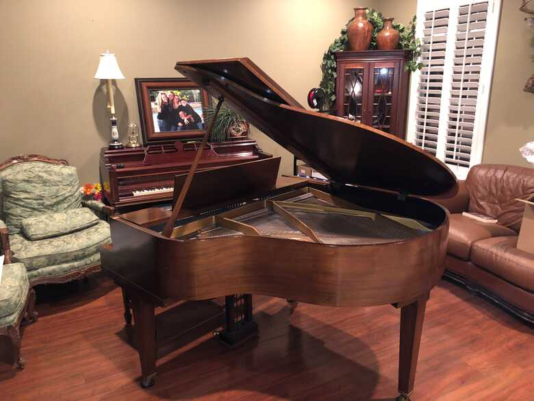 Vose and Sons Baby Grand Piano