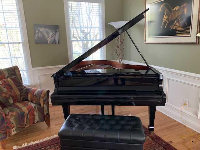 Beautiful piano with beautiful sound