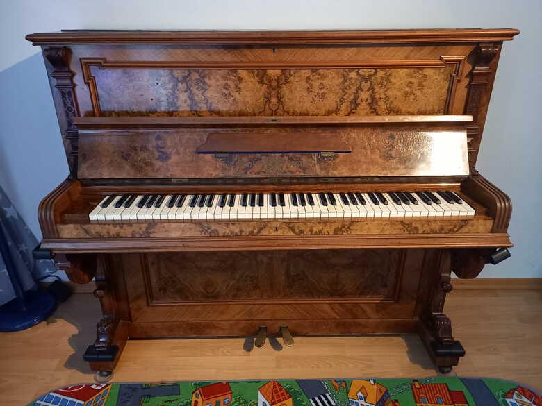 Apollo Dresden upright piano