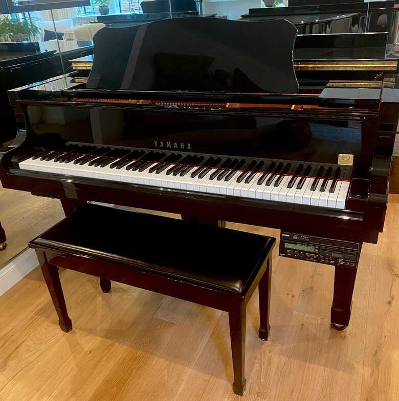 "Yamaha 5'8"" Grand Piano w/ Disklavier player/recorder"
