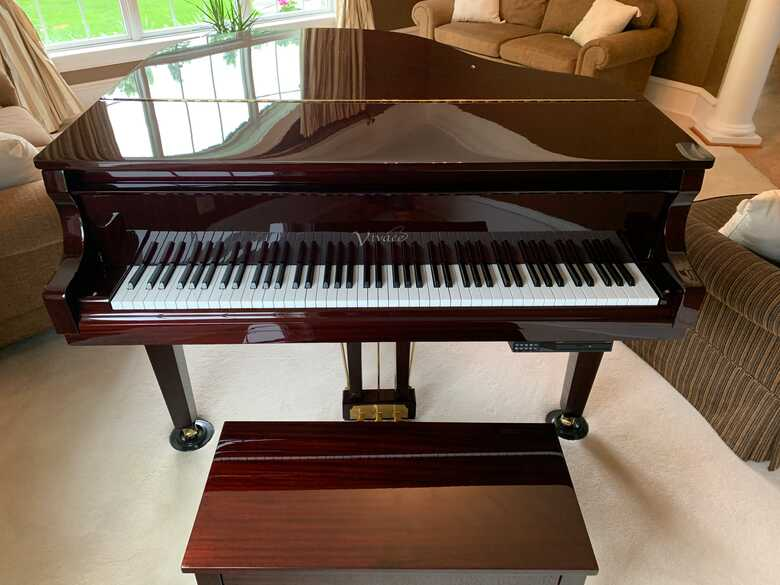 Vivace by Sauter G42 Baby Grand with PianoDisc System