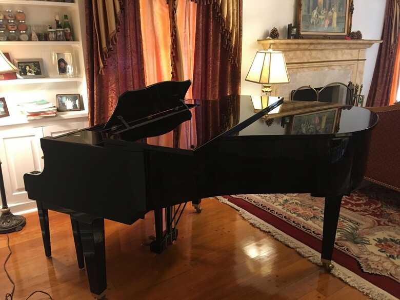 YAMAHA BABY GRAND PIANO-GP1 MADE IN JAPAN, Ebony Polish
