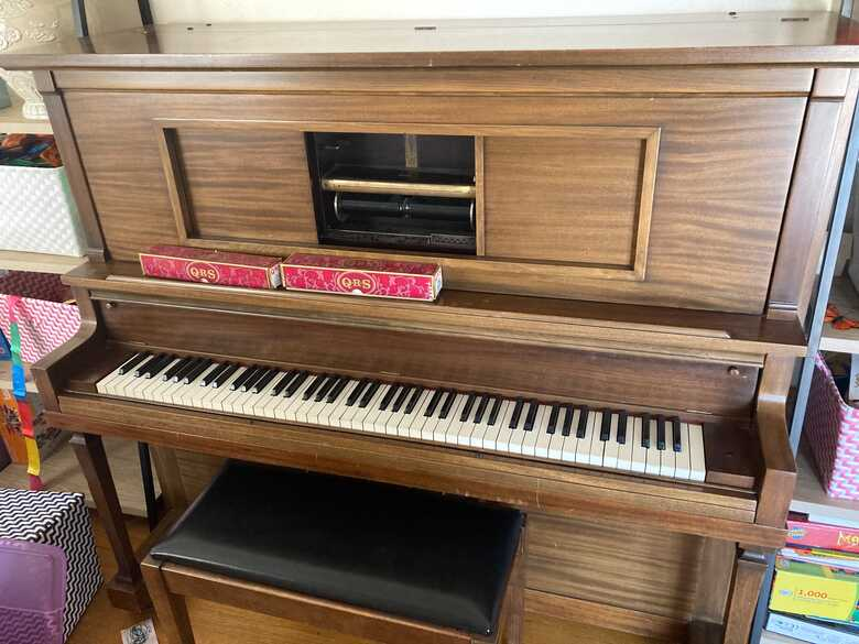 Lauder Player Piano - recently refinished