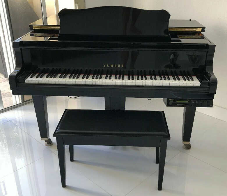 Yamaha DGP1XG Disklavier Mark 11 BLACK Baby Grand Piano w/ B