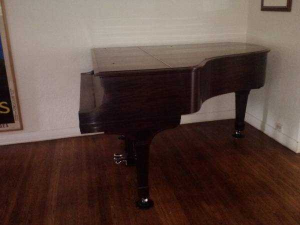 """Steinway Model A-II, 6'-2"""" parlor grand piano."""