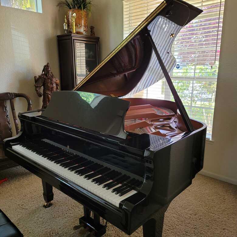 "Schimmel 6""11 Grand Piano Moving overseas urgent sales"