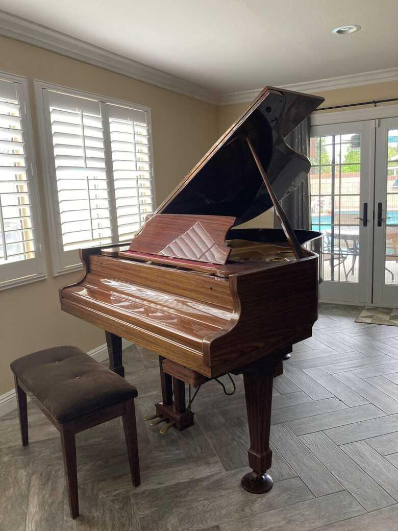 Schafer & Sons Grand Piano
