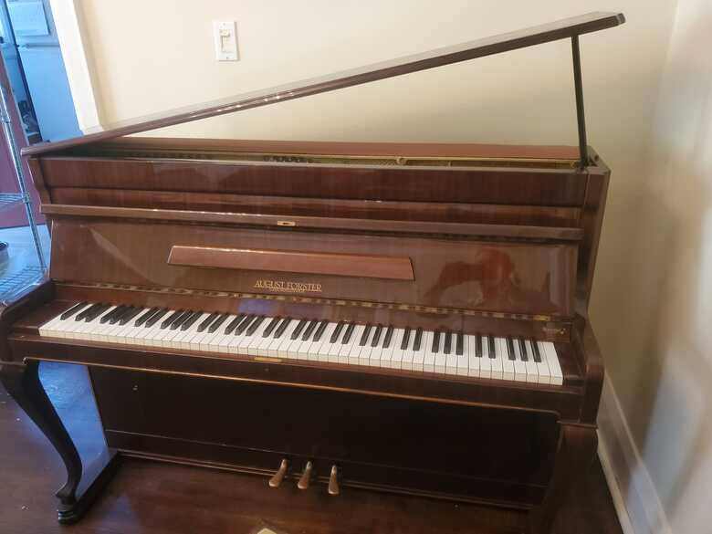 AUGUST FORSTER Upright piano