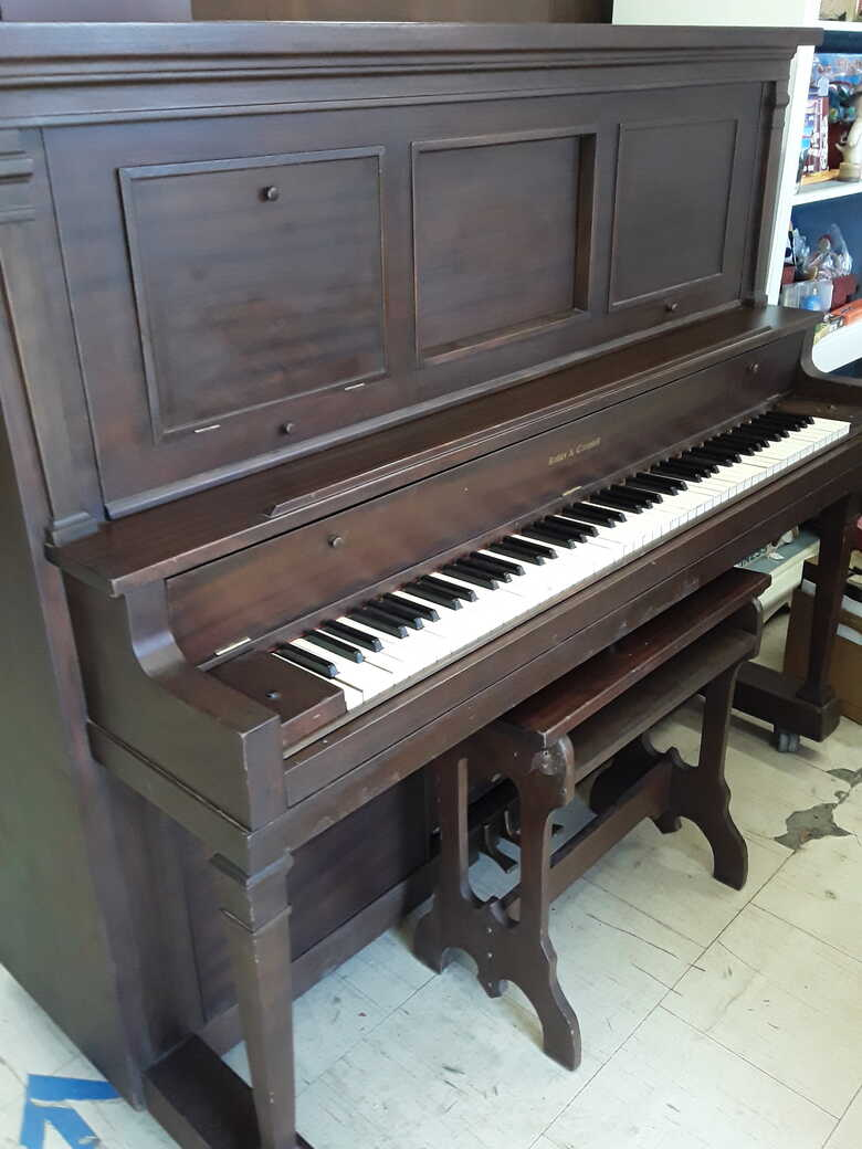 1919 Kohler & Campbell Player Piano