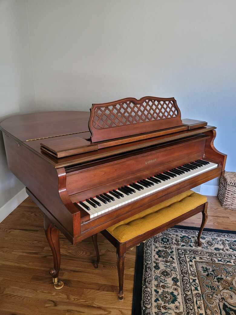 Baby Grand Kimball Piano