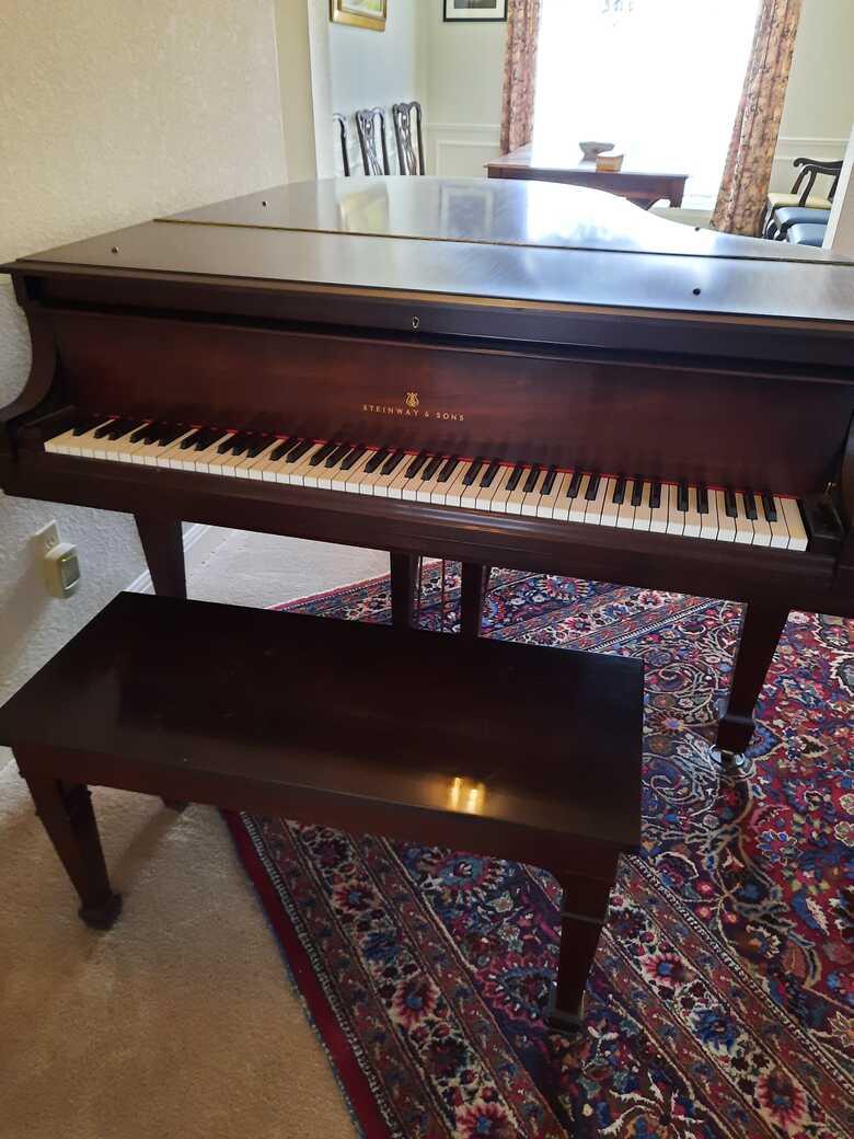 """1927 Steinway """"M"""" Grand Piano"""