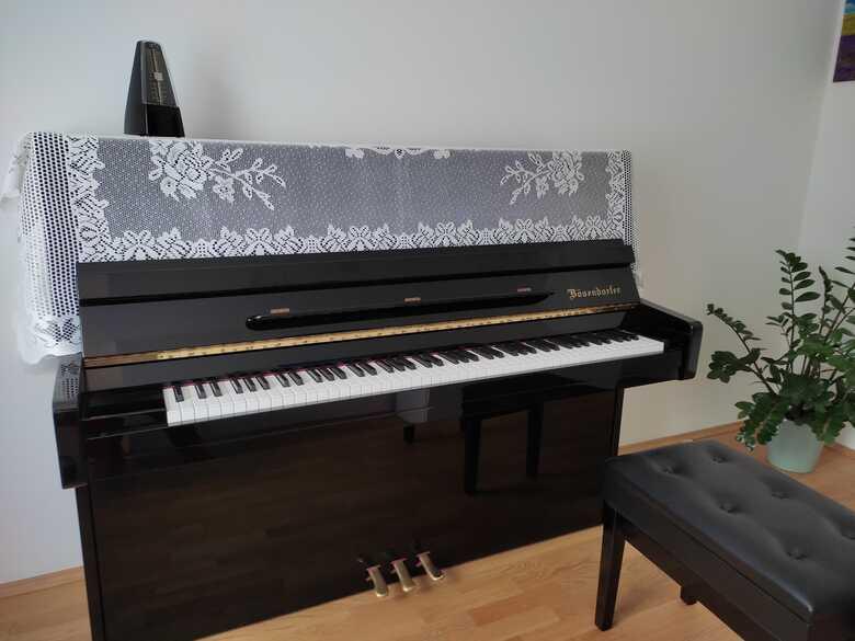 Bösendorfer 120 brillant black with sustenuto pedal