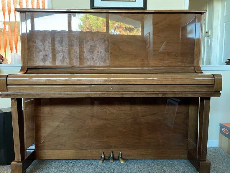 Schafer & Sons VS 52 Upright Piano