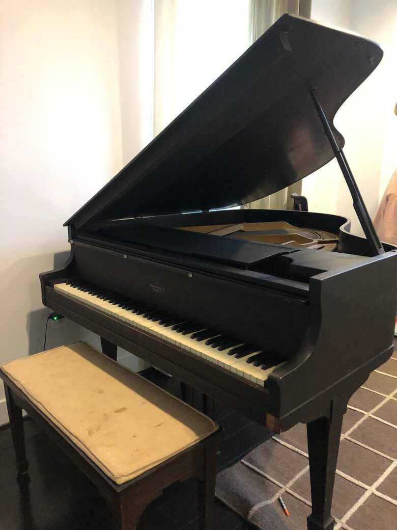 Antique Brambach Baby Grand Piano for Sale