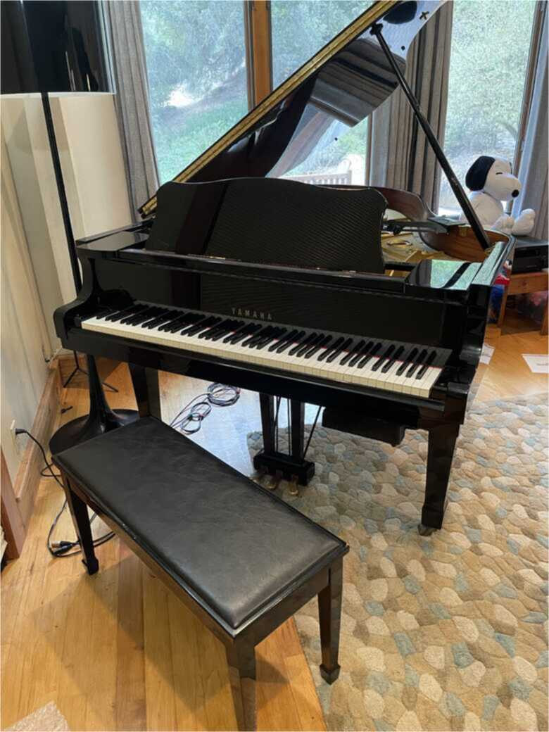 Yamaha G3 Grand Piano with Player