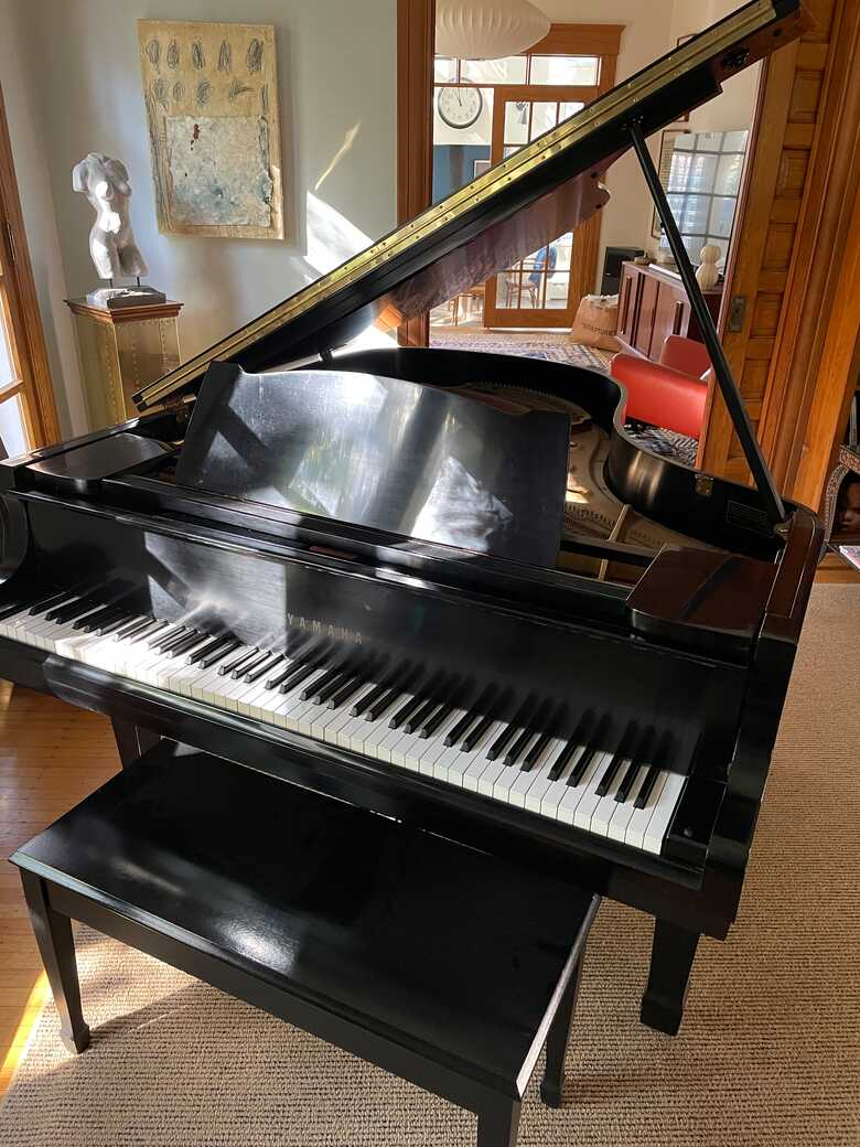 Yamaha G2 in excellent condition--owned for 15 years