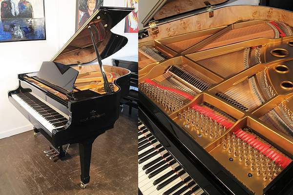 New, Steinberg WST166 grand piano with a carbon fiber action