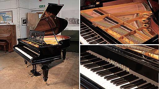 Restored, Bechstein Model A grand piano in black