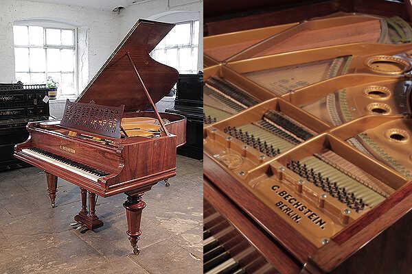 Restored, 1895, Bechstein Model VA grand piano