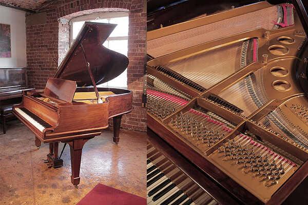 Restored, 1906, Steinway Model O grand piano