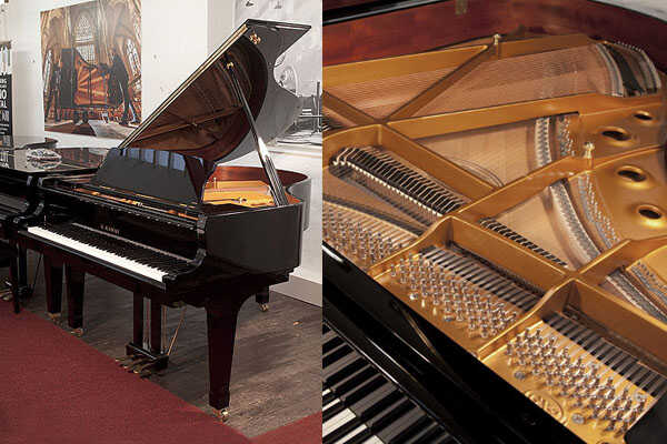 A 2020, Kawai GX-2 grand piano with fitted PianoDisc SilentD