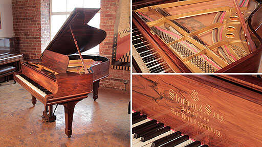 A 1905, Steinway Model O grand piano in rosewood
