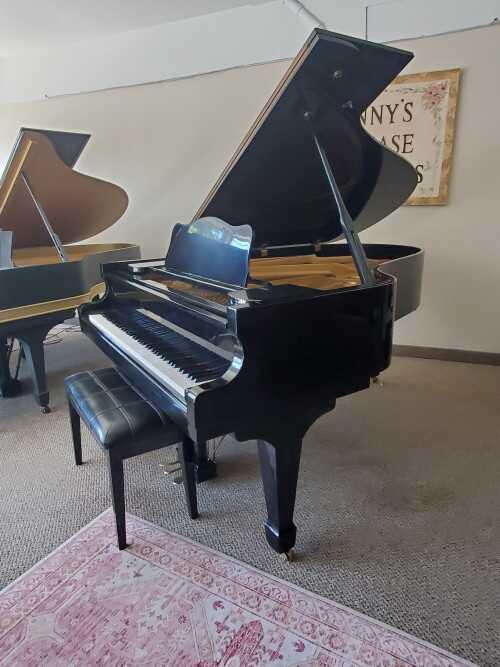 Schumann Concert Grand, Polished Ebony Gloss 1973 (VIDEO)