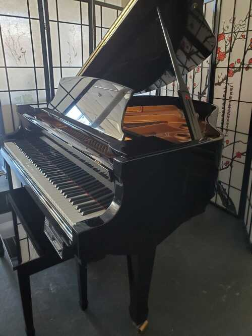 """Knabe Baby Grand (5'1"""") w/PianoDisc CD Player System (VIDEO)"""