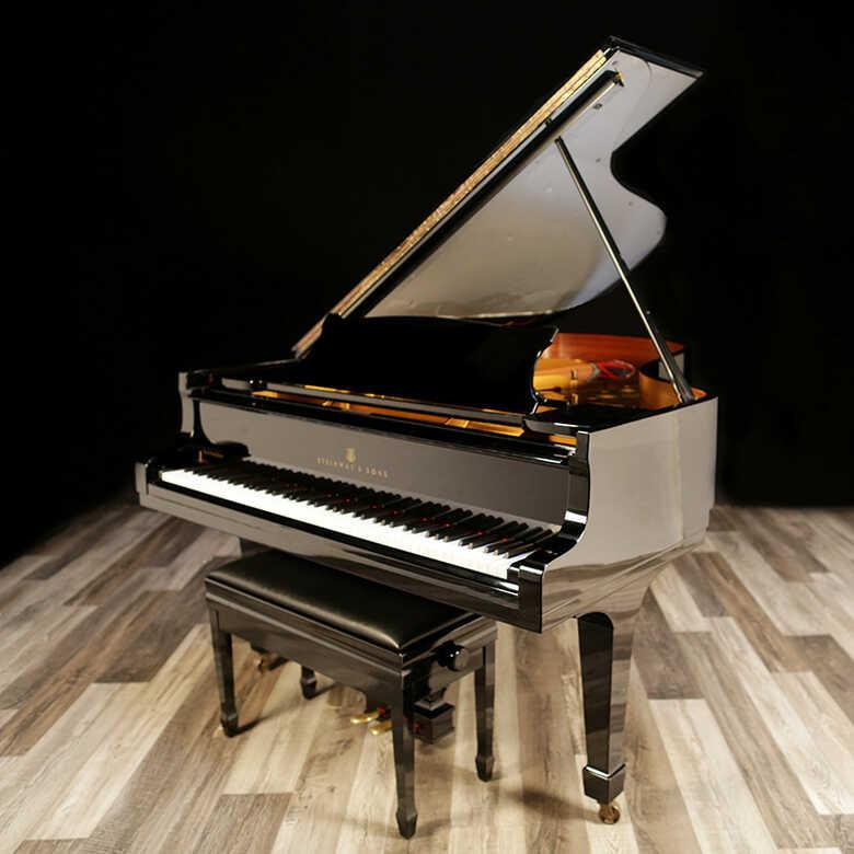 """1978 Hamburg Steinway Grand Piano, Model B - 6'11"""""""