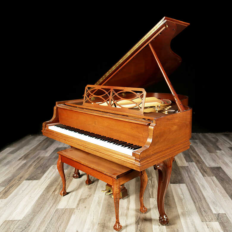 1984 Chippendale Steinway Grand Piano, Excellent Condition