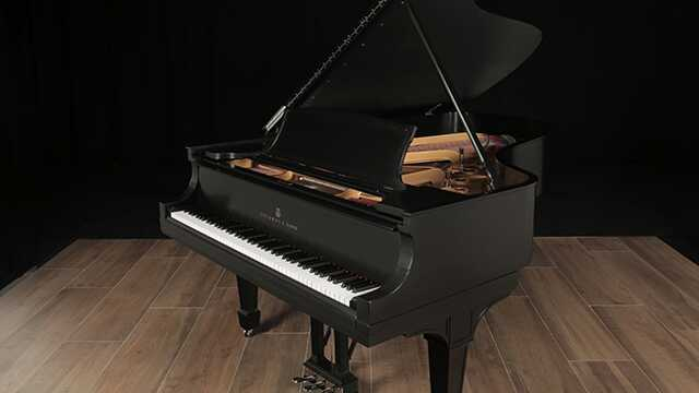 Golden Era Steinway Grand Piano, Model B