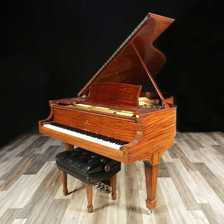 Restored Steinway Grand, Model O - Sold by Lindeblad Piano