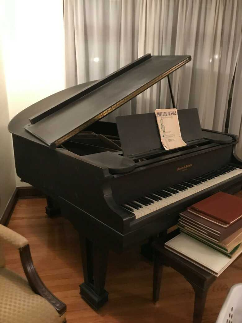 Mason & Hamlin self player reproducing Ampico grand piano