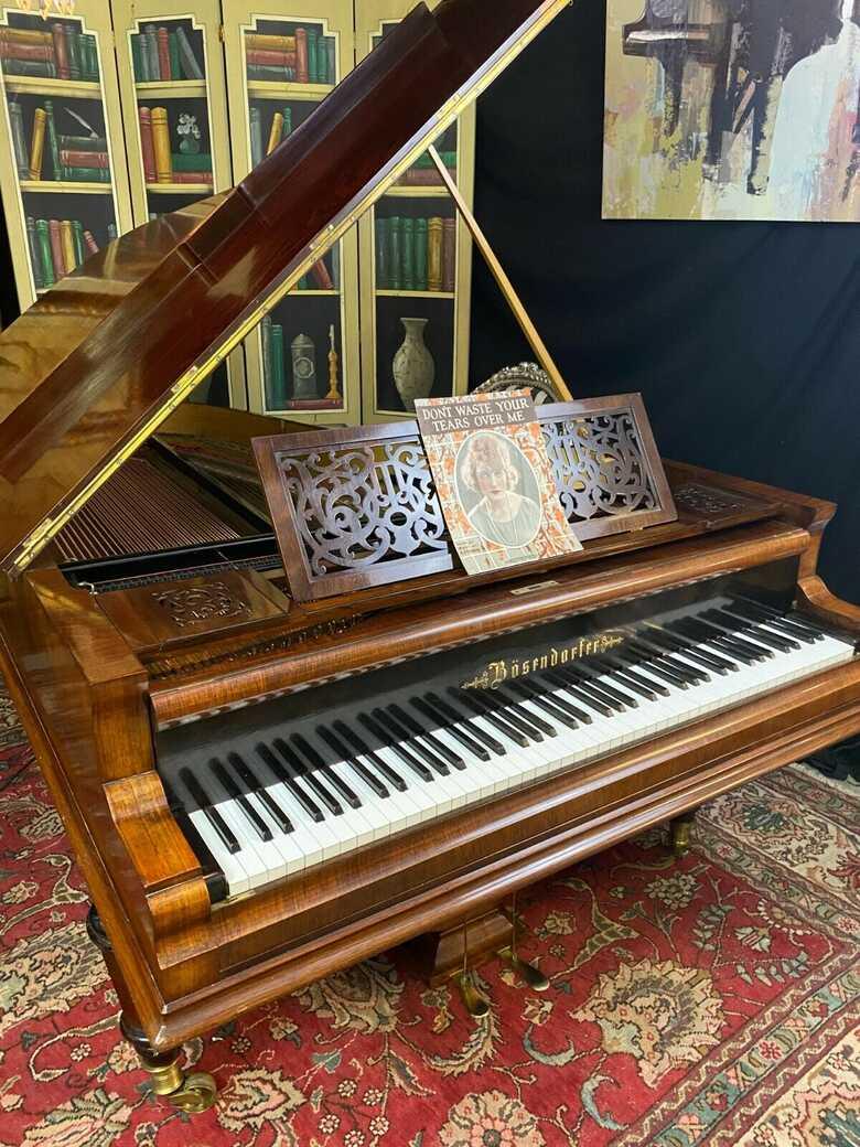 Incredible Bosendorfer Grand piano & Free Steinway bench