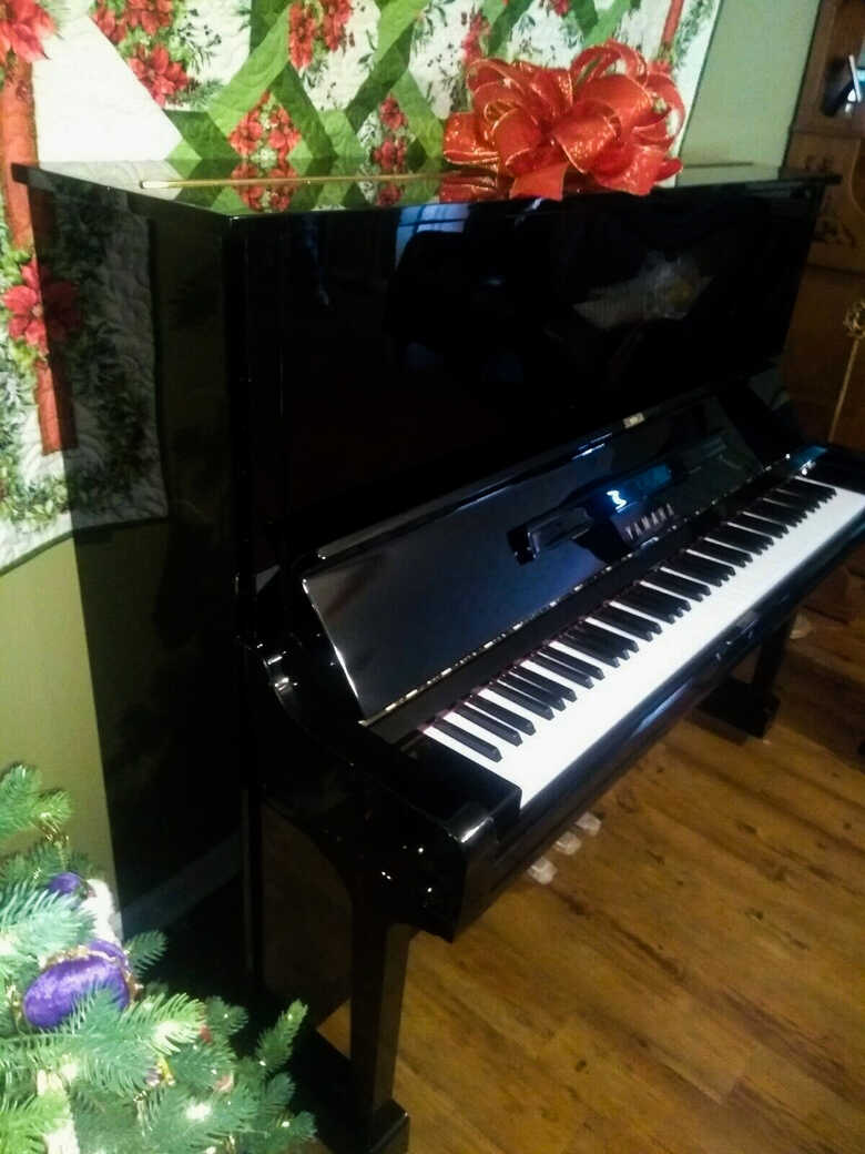 "Yamaha U3 52"" Vertical Upright acoustic piano"