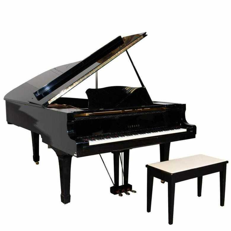 Gigantic sounding 7' 4 grand piano ( Self player ) & Yamaha